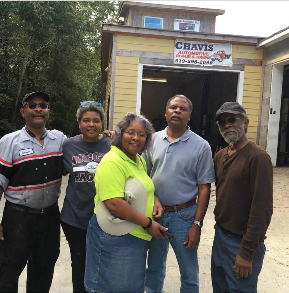 Chavis Automotive Repair & Towing: 2400 Kate St, Durham, NC