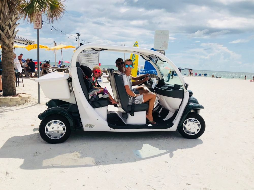 Beachfront Buggies and Scooters: 6295 Gulf Blvd, Saint Pete Beach, FL