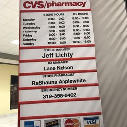 Cvs Pharmacy Clinton St Iowa City
