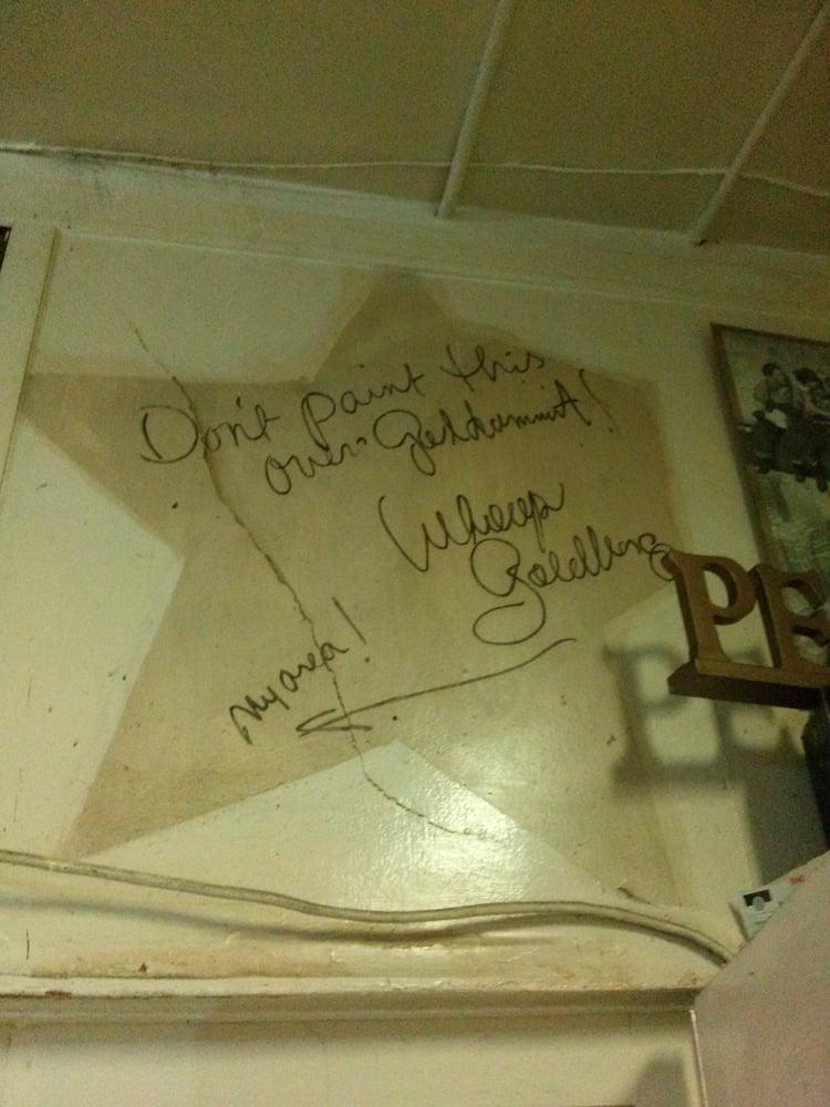 Yes! Whoopi Goldberg did work here. - Yelp