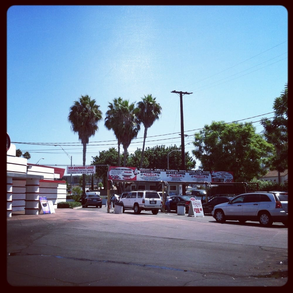 Everyone In Long Beach Loves The Circle Marina Car Wash