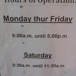 what time is post office open till on a saturday