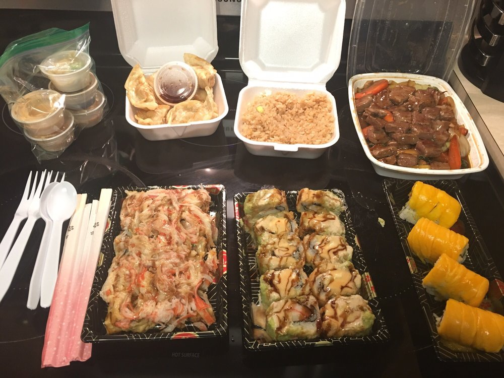 Wasabi Sushi: 6586 Hwy 40 E, St. Marys, GA