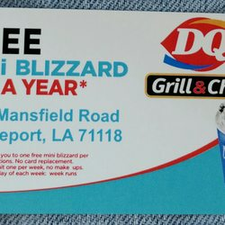Dairy queen 27 photos fast food 9565 mansfield rd shreveport photo of dairy queen shreveport la united states go get your card reheart Images
