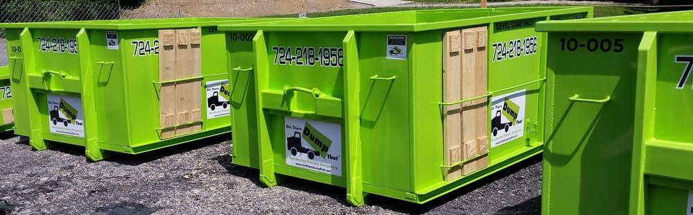 Bin There Dump That, Tri-State: 619 W Main St, Carnegie, PA