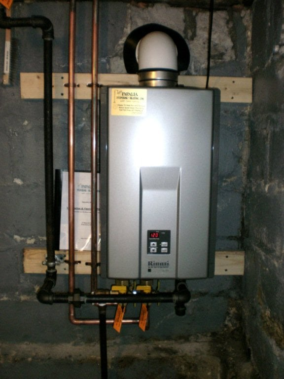 A Rinnai Tankless Water Heater Installation Yelp