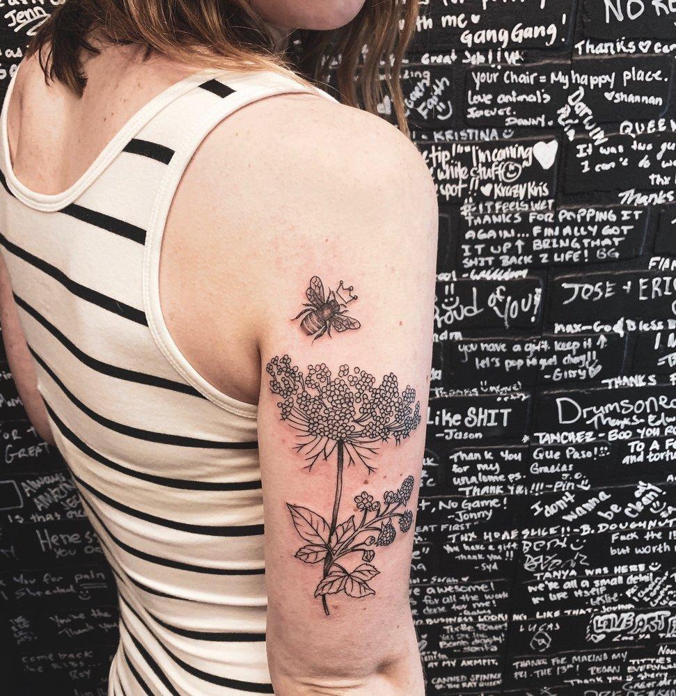 Tanchez Collective Tattoo and Art Studio: 10621-J Braddock Rd, Fairfax, VA