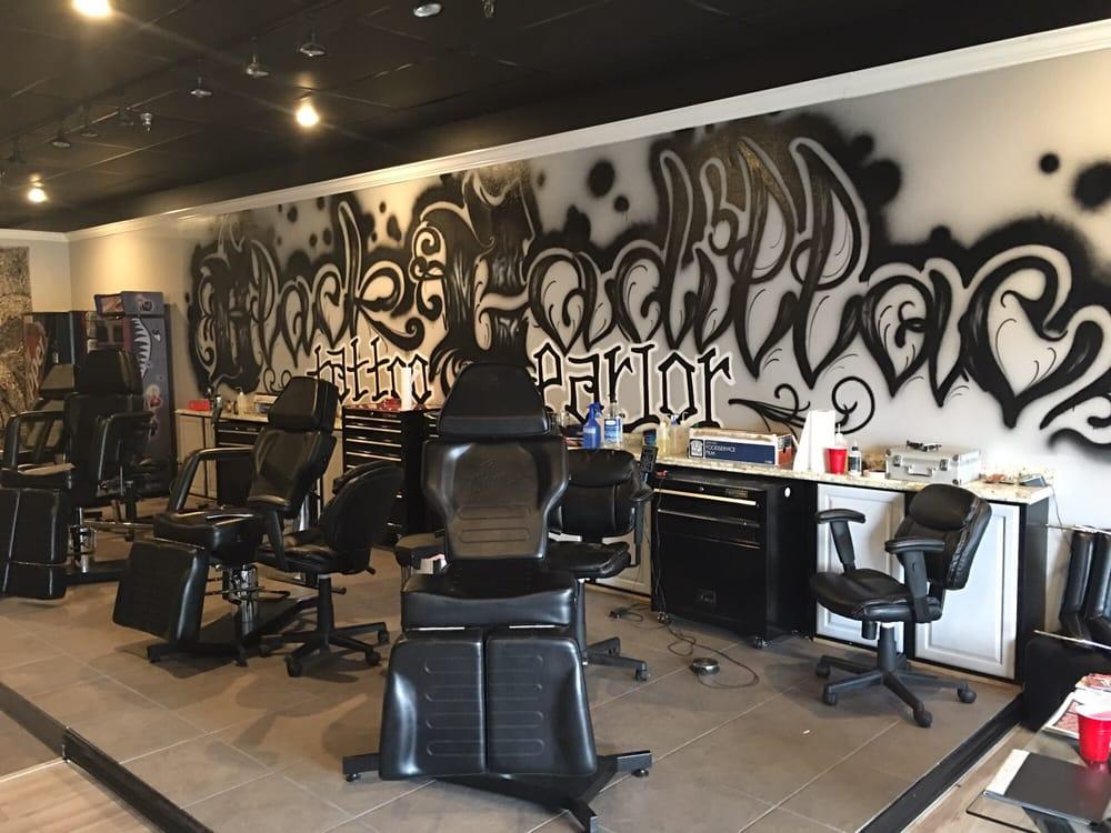 Black Cadillac Tattoo Parlor: 6362 Phelan Blvd, Beaumont, TX