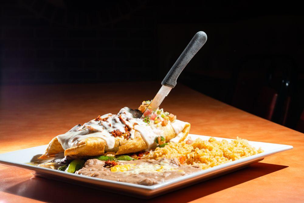 Food from Senor Garcia Mexican Restaurant