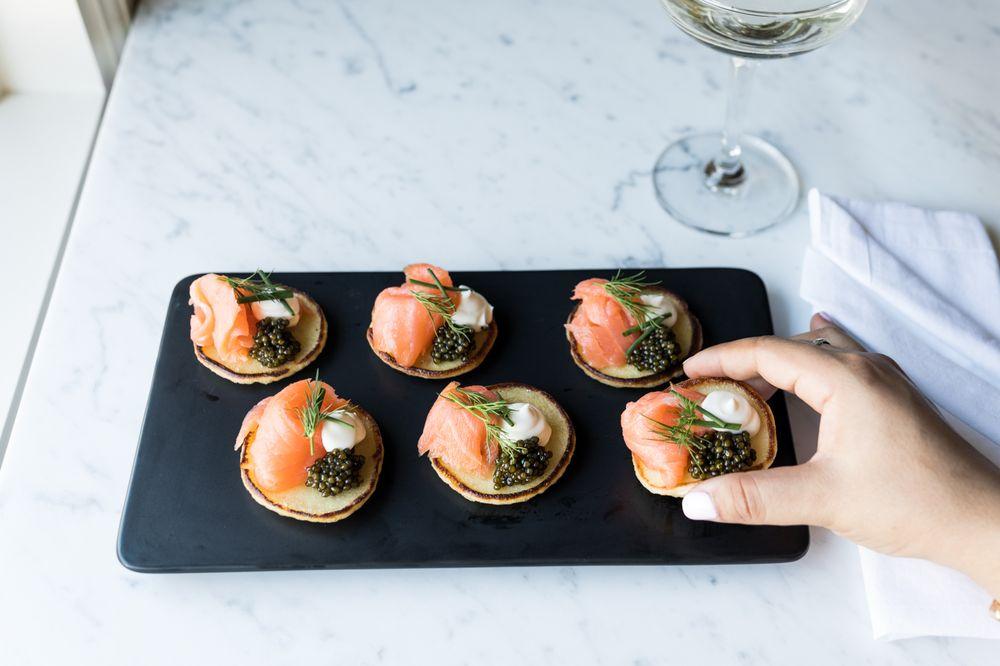 The Caviar Co. Tiburon Champagne and Caviar Tasting Room: 46 A Main St, Tiburon, CA