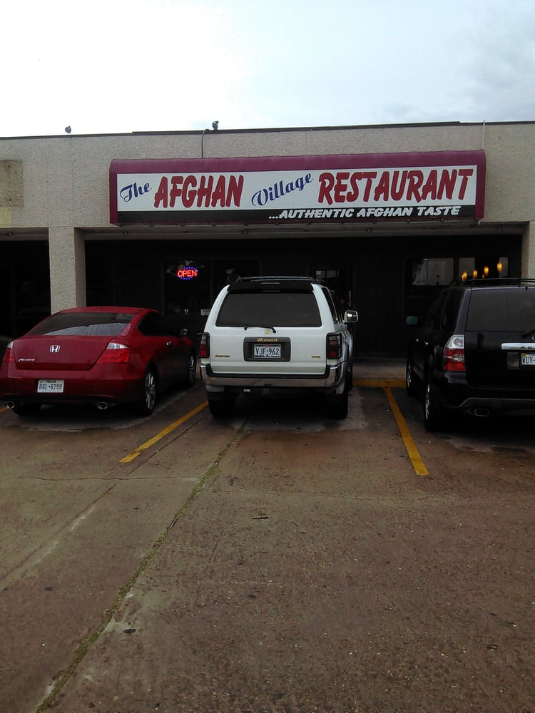 Front view of the restaurant yelp for Afghan cuisine houston tx