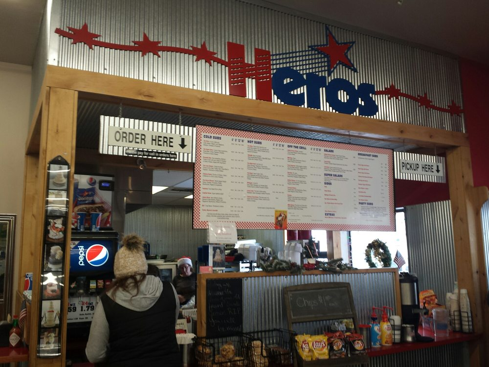 Heros Sub Shop: 350 Jackrabbit Ln, Belgrade, MT