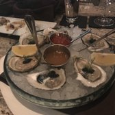 Photo Of Lithos Estiatorio   Livingston, NJ, United States. Blue Point  Oysters With