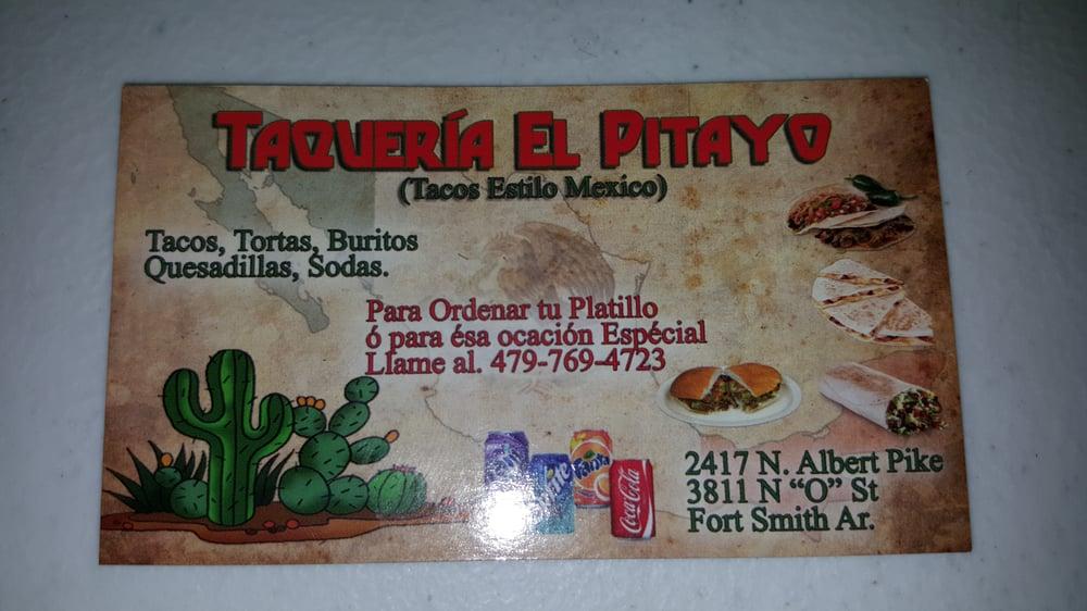 Taqueria El Pitayo: 2417A Albert Pike, Fort Smith, AR
