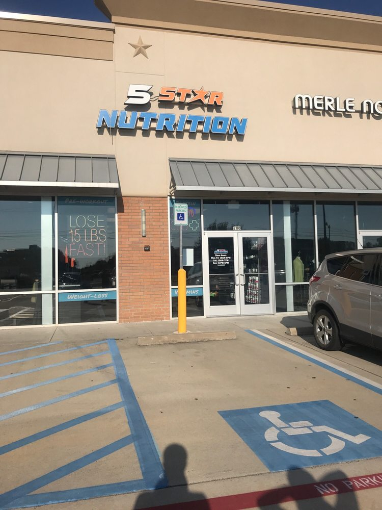 5 Star Nutrition - Bossier City: 2650 Airline Dr, Bossier City, LA