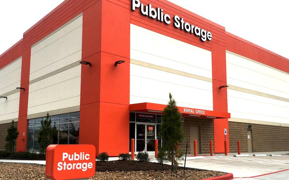 Public Storage: 5323 Milwee Street, Houston, TX