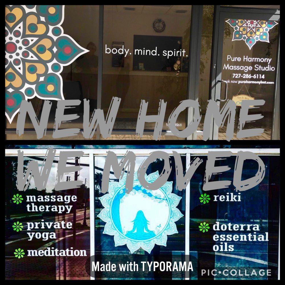 Pure Harmony Massage Studio: 1059 Broadway St, Dunedin, FL