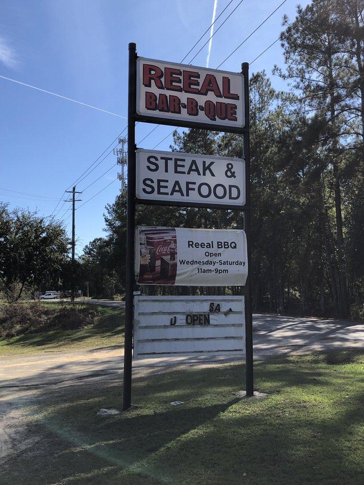 Reeal Barbeque: 501 E Carter Ave, Blackshear, GA