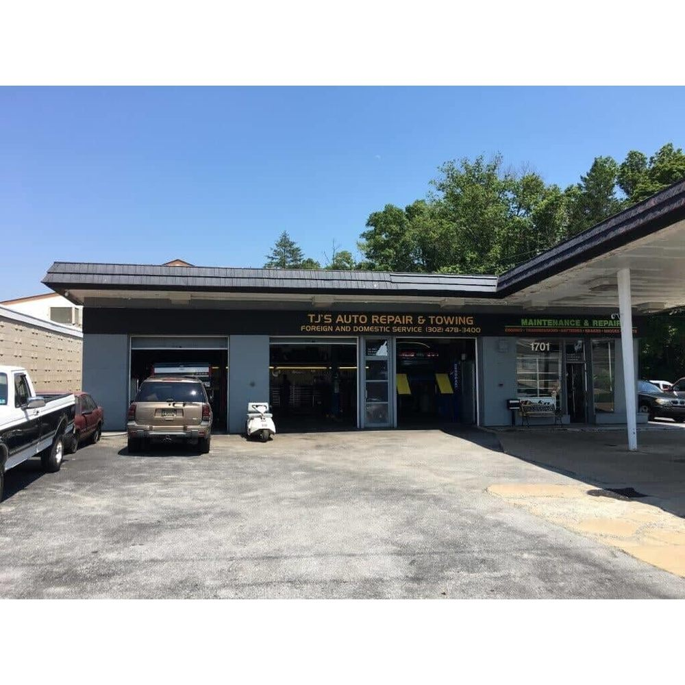 TJ's Auto Repair: 1701 Marsh Rd, Wilmington, DE
