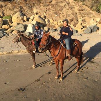 Photo Of Santa Barbara Beach Horseback Rides Ca United States