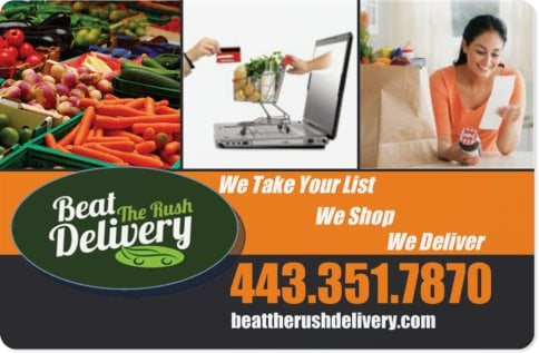 Beat The Rush Delivery: Cambridge, MD