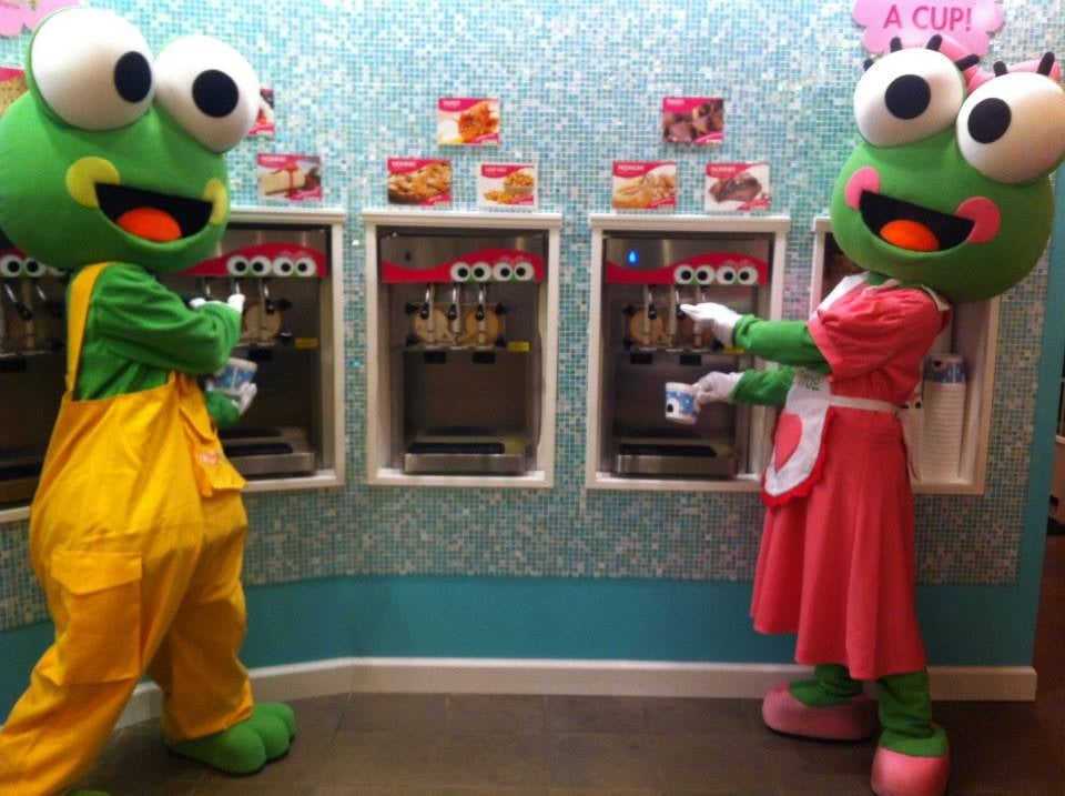 Our Mascots, Cookie and Scoop are ready to serve! - Yelp