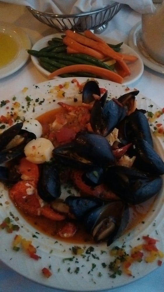 Cioppino Swapped Out The Rice For Double Vegetables Yelp