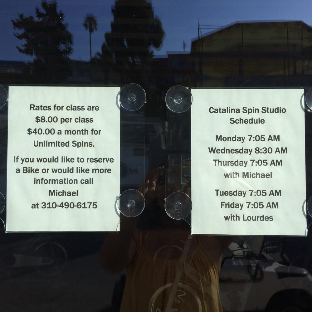 Avalon Spin Class/Exercise: 888 Country Club Rd, Avalon, CA
