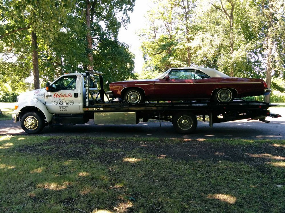 Adolph's Towing: 28299 Telegraph Rd, Flat Rock, MI