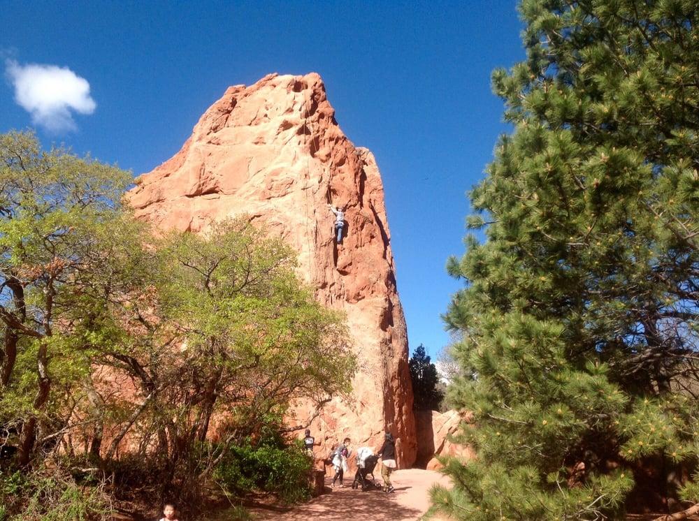 Rock climbing looks challenging yelp - Garden of the gods rock climbing ...