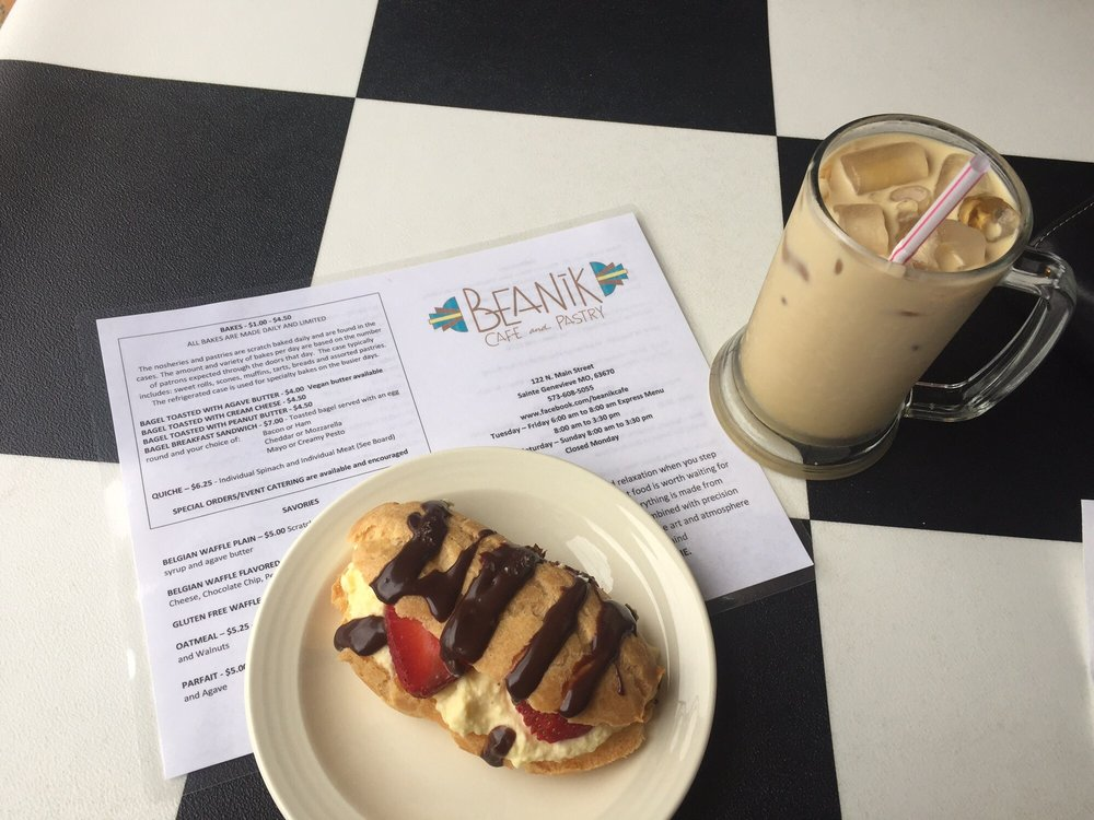 Beanik Cafe and Pastry: 122 N Main St, Ste Genevieve, MO
