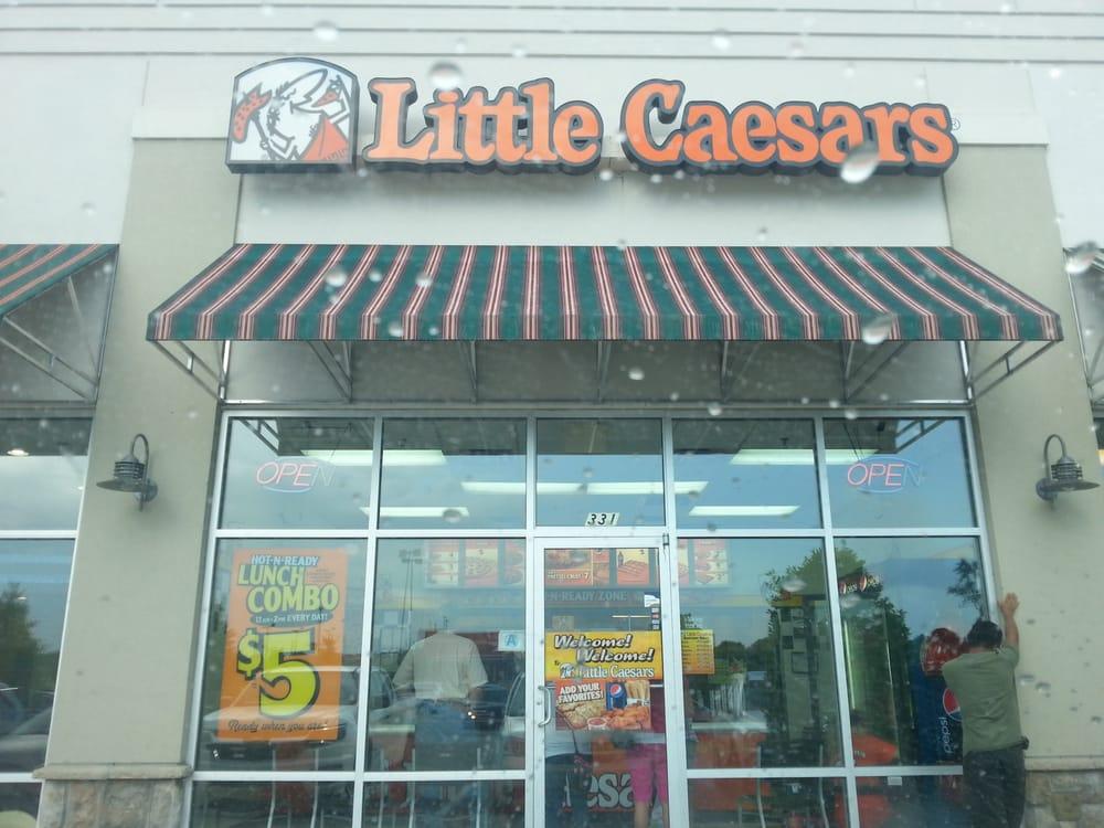 Little Caesars Pizza: 331 Henry Blvd, Statesboro, GA