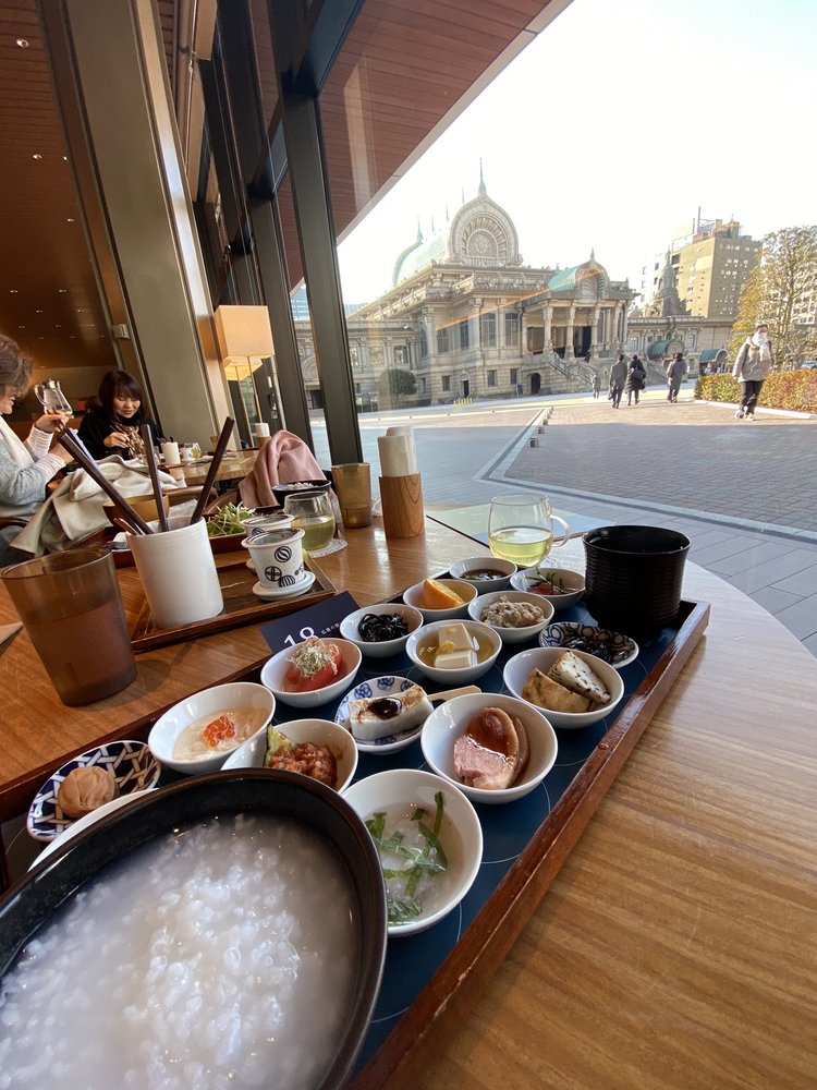 Tsukiji Honganji Cafe Tsumugi