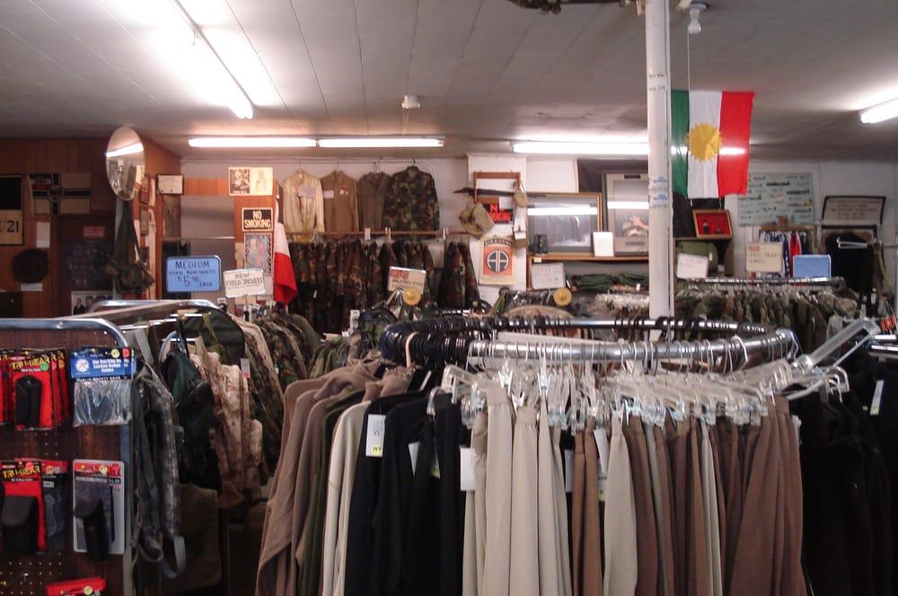 Curtis Military Surplus: 904 E Broad Ave, Rockingham, NC