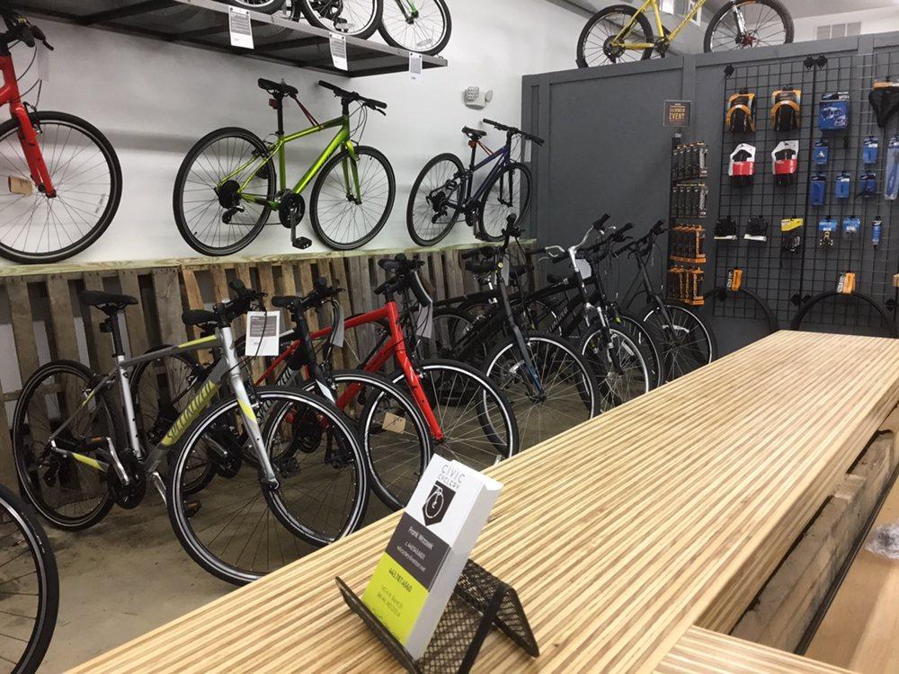 Civic Cyclery: 142-A N Bond St, Bel Air, MD