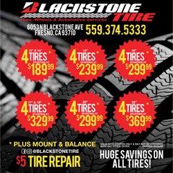 Blackstone Tire 116 Photos Tires 6053 N Blackstone Ave Fresno
