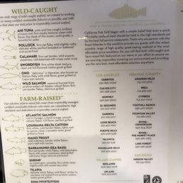 Photos for california fish grill yelp for California fish grill menu