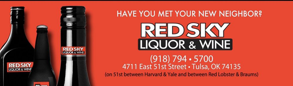 Red Sky Liquor & Wine: 4711 East 51st St, Tulsa, OK