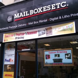 Mailboxes Etc UK Couriers Delivery Services 27 Colmore Row