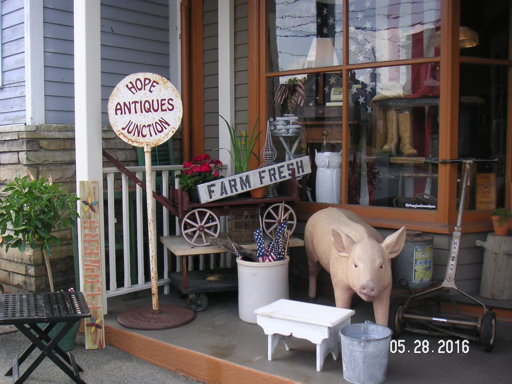 Hope Junction Antiques: 331 High St, Hope, NJ