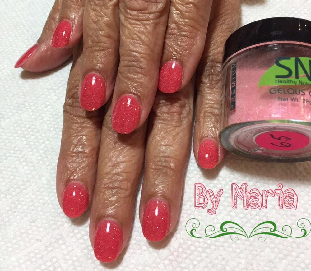 SNS nails ( dipping powder ) ! No acrylic, no gel but as strong as ...