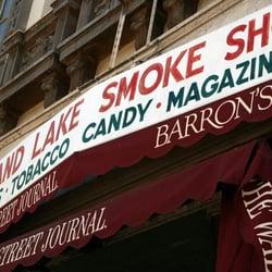 Grand Lake Smoke Shop logo
