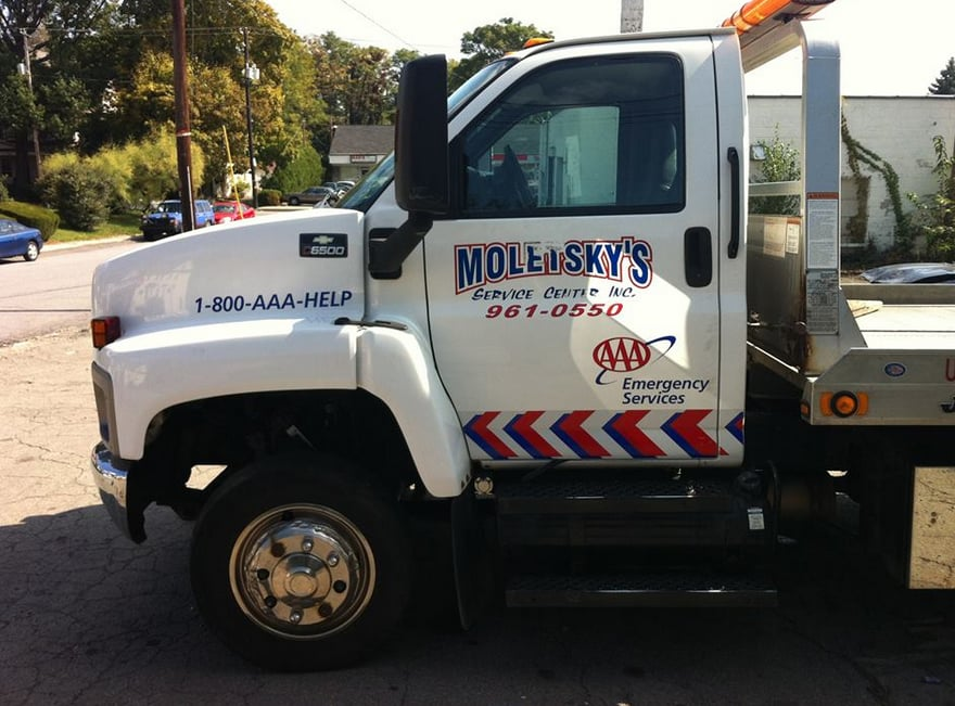 Towing business in Dunmore, PA