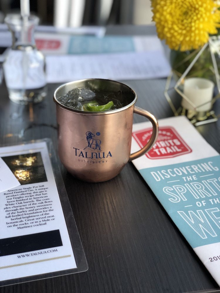 Talnua Distillery and Tasting Room: 5405 W 56th Ave, Arvada, CO