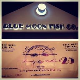 Blue moon fish company ferm 24 photos 51 avis for Blue moon fish company