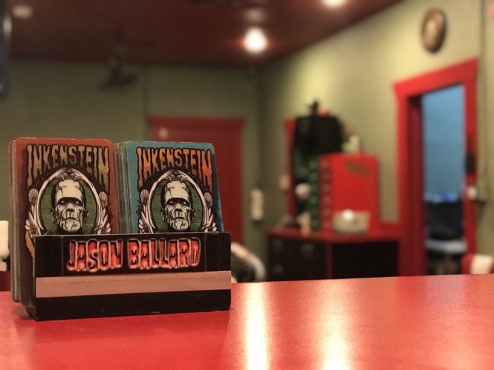 Inkenstein Tattoo Company: 7021 N 57th Ave, Glendale, AZ