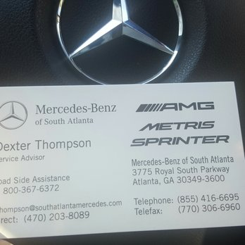 Mercedes benz of south atlanta 39 photos 38 reviews for Phone number for mercedes benz