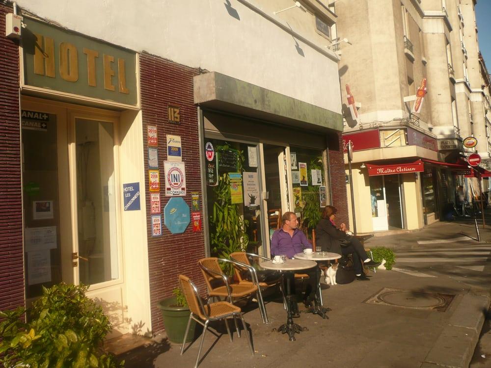 H tel les chansonniers h tels 113 boulevard for Hotel boulevard richard lenoir paris