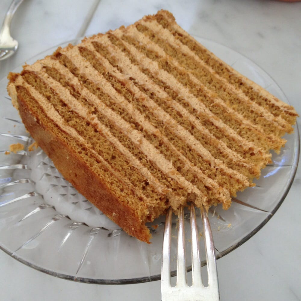 Russian Honey Cake Th Century Cafe