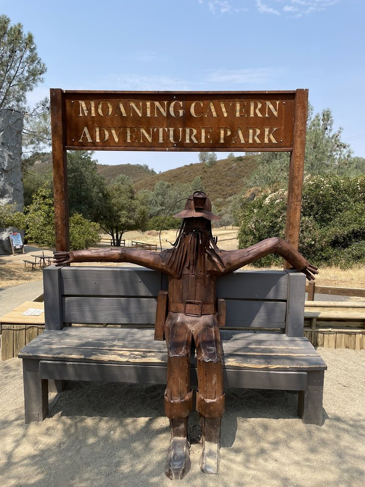 Moaning Caverns Adventure Park: 5350 Moaning Cave Rd, Vallecito, CA